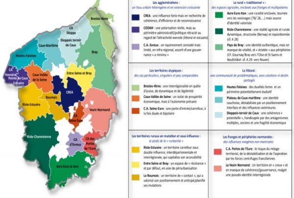 Caractérisation et typologie des territoires de la Haute Normandie