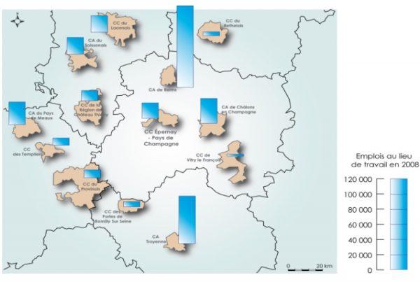 Analyse économique comparative d'Epernay