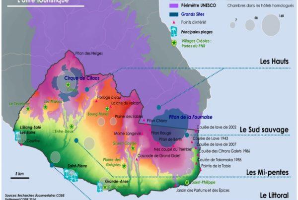 L'offre touristique du Grand Sud Réunion