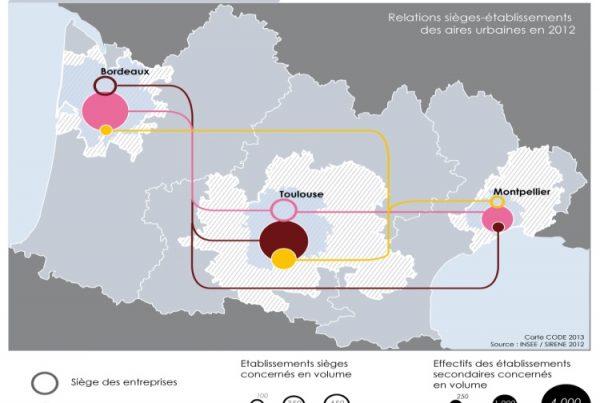 Relations et enjeux économiques Bordeaux-Toulouse-Montpellier - 2